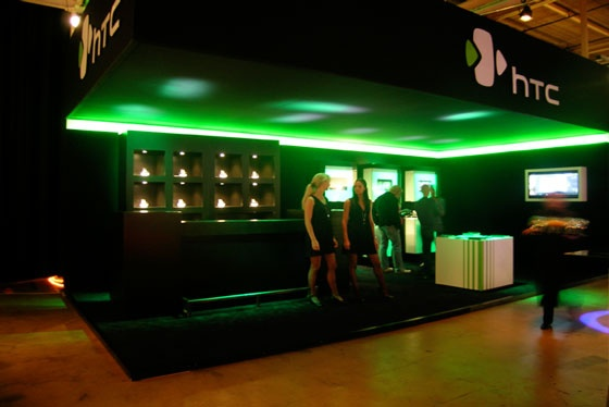 HTC booths by IDNA