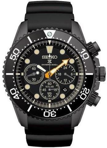 Seiko Watch Prospex Sea Black Series Limited Edition Pre-Order