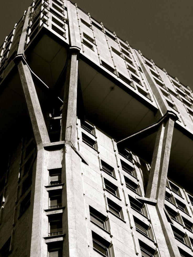 B.B.P.R. Torre Velsca, Milan, 1956-1958