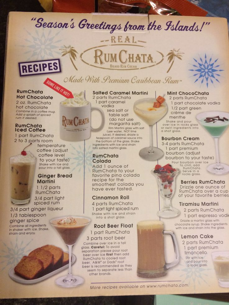 RumChata Drinks, OMG my absolute favorite drink at the moment!