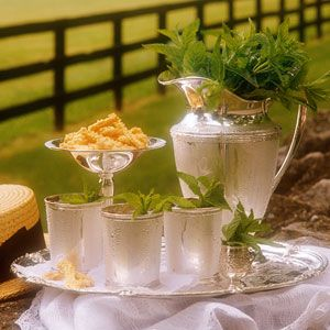 This picture from a Southern Living issue in 2003 is what started my love for julep cups.