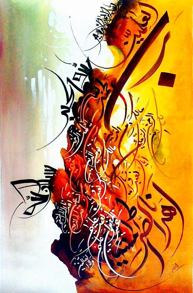 DesertRose,;,beautiful calligraphy art,;,