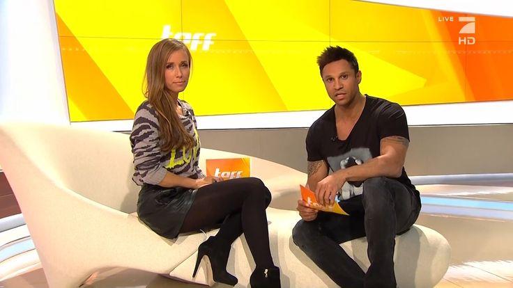 Annemarie Carpendale German Presenter Leather Shorts10 2 2014