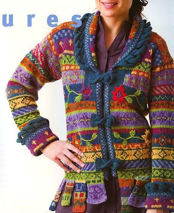 1380 best Fair Isle Stuff images on Pinterest | Clothing, Create ...