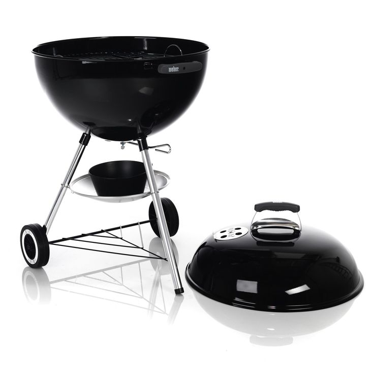 Barbecue à charbon D57cm Noir - One Touch Weber - Les barbecues - Meubles de jardin - Tous les meubles - Décoration d'intérieur - Alinéa