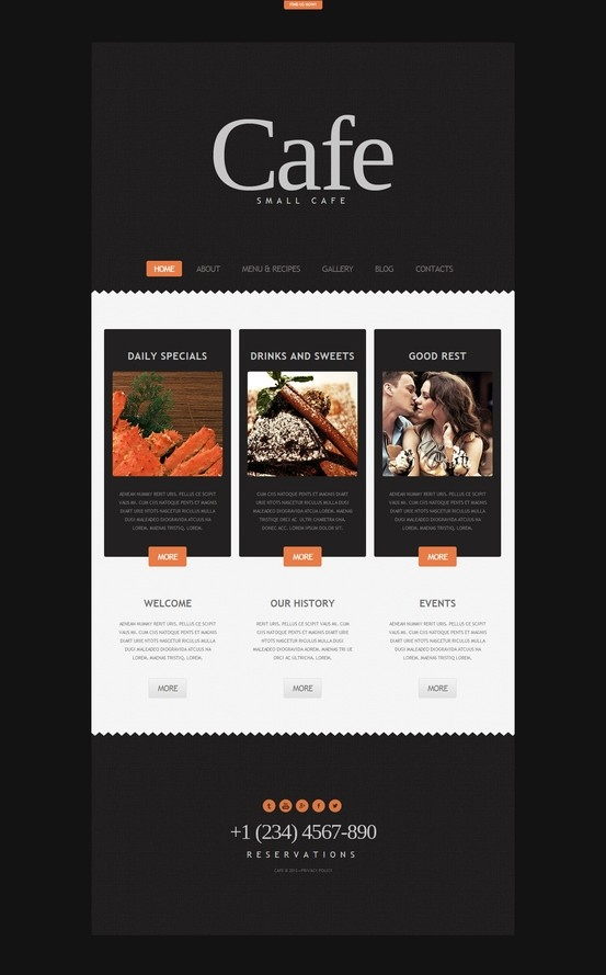 Best 13 Food Wordpress Themes & Website Templates images on ...