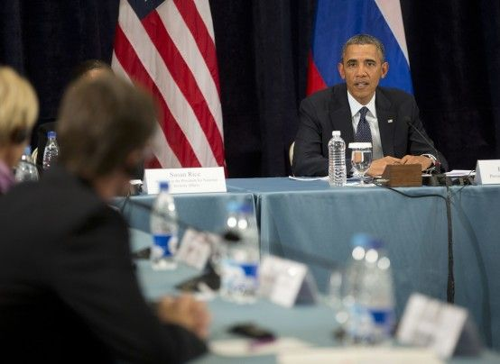 Russian rights activists say obama promised to keep pressing putin on