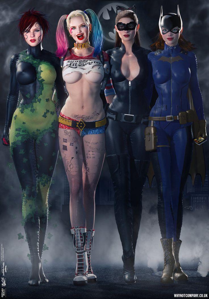 Gotham Girls Comic Series, Evolution Cover Art by DevilishlyCreative.deviantart.com on @DeviantArt