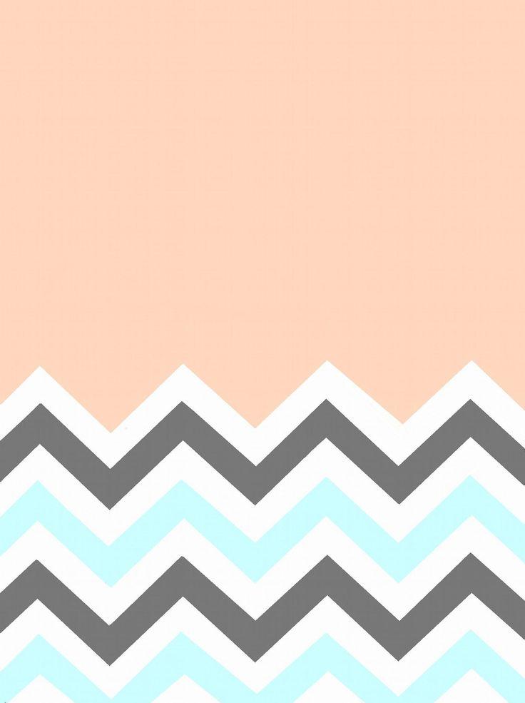 Mint Chevron Wallpaper 61436
