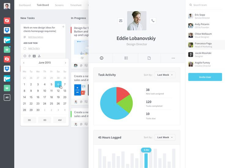Best Ui  Dashboard Images On   User Interface
