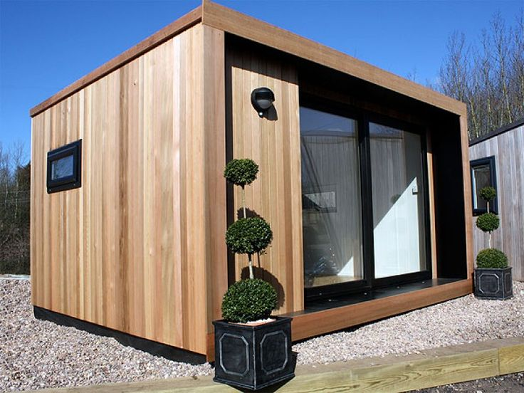 Guest house but more glass. Great website. Green Retreats   The Garden Room Guide
