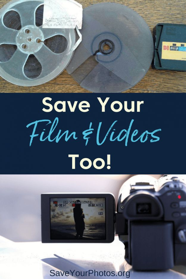 Don't forget about saving your family's home movies and film archives too! #saveyourphotos