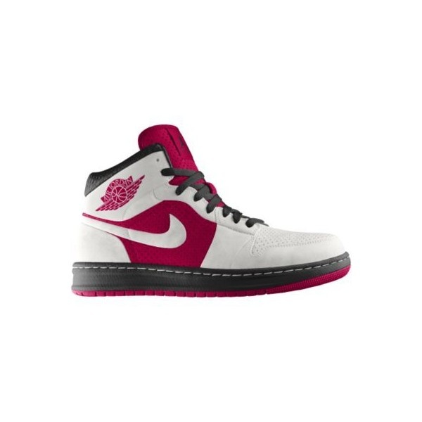 Nike Air Jordan Alpha 1 iD Custom Women's Basketball Shoes - Pink, 10 ($165