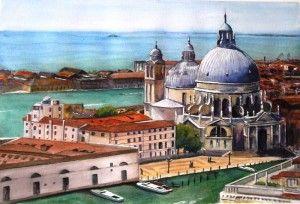 Basilica della Salute Venice by Graham Ibson