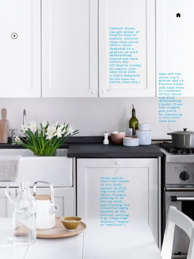 "I saw this in ""Spring Cleaning 360°"" in Martha Stewart Living April 2014."