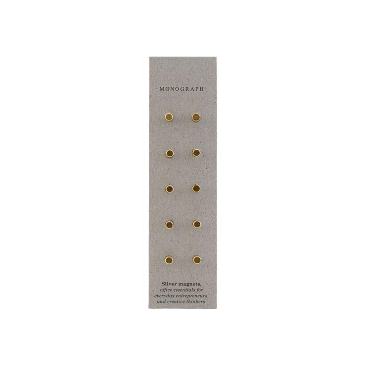 Neo magneter fra Monograph, en fantastisk løsning for deg som ikke vil stikke hull i veggen, papiret...