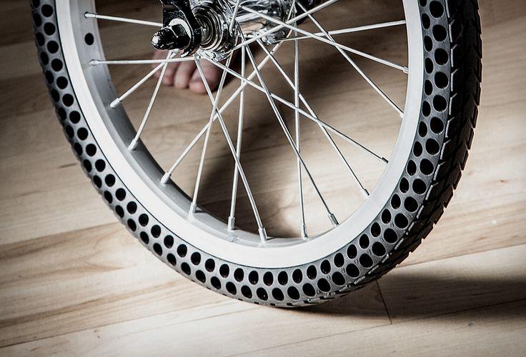 Flat Free Bicycle Tires   Image                                                                                                                                                                                 More