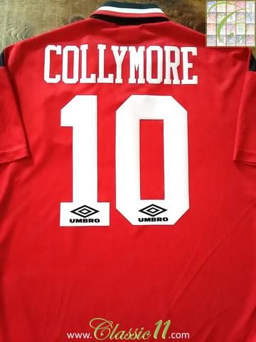 Relive Stan Collymore's 1994/1995 season with this original Umbro Nottingham Forest home football shirt.