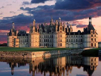 I think we learned about this place in one of my history classes: Of Chambord, Favorite Places, Castles, Loire Valley, France, Castle, Chateau De, Travel
