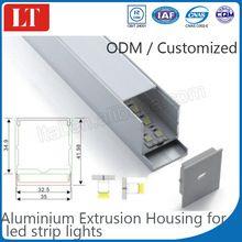 professional aluminium extrusion factory providing china aluminium profile led strip shell kg aluminium price