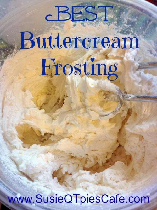 Cake Decor Recipes : Cake Recipe: Best Buttercream Icing Recipe For Cake Decorating