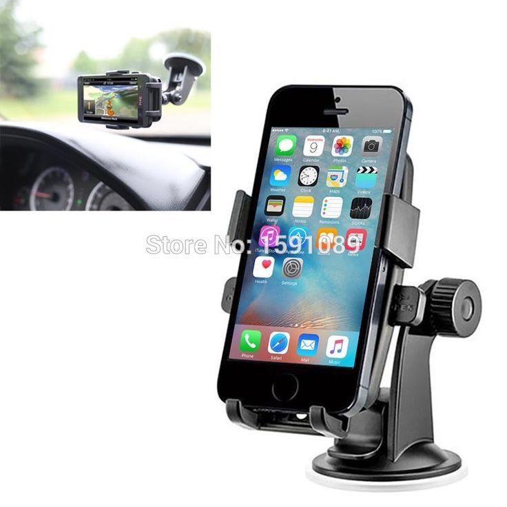 Universal 360 Degree Rotation Suction Cup Car Holder for iPhone SE 6 6S 5S 4S Desktop Stand for All Smartphones, Width: 50-75mm - http://thekopf.com/products/universal-360-degree-rotation-suction-cup-car-holder-for-iphone-se-6-6s-5s-4s-desktop-stand-for-all-smartphones-width-50-75mm/