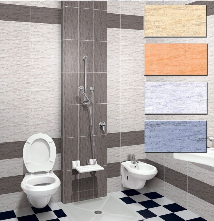Latest bathroom tiles kajaria with unique images for Toilet tiles design