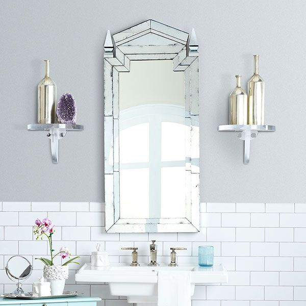 Deco Bathroom Mirror: 98 Best Images About Art Deco Bathroom Ideas On Pinterest
