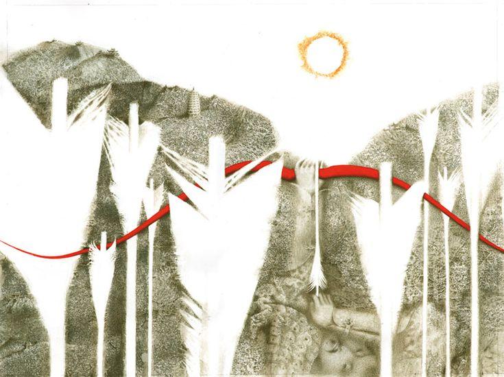 Павел Татарников. Иллюстрация к книге «Стрелок и десять Солнц» - Павел Татарников