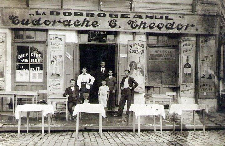 Braila - Restaurantele de altadata  - 1920