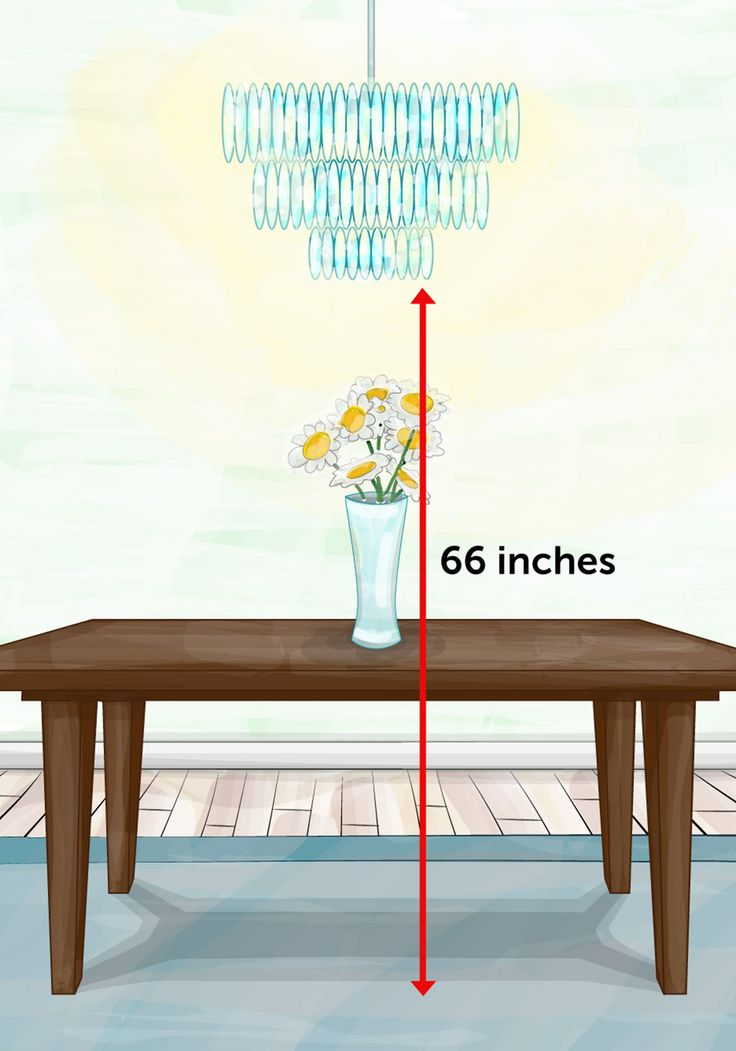 Chandeliers And Hanging Fixtures Leave About 66 Inches From The Floor To  The Bottom Of A