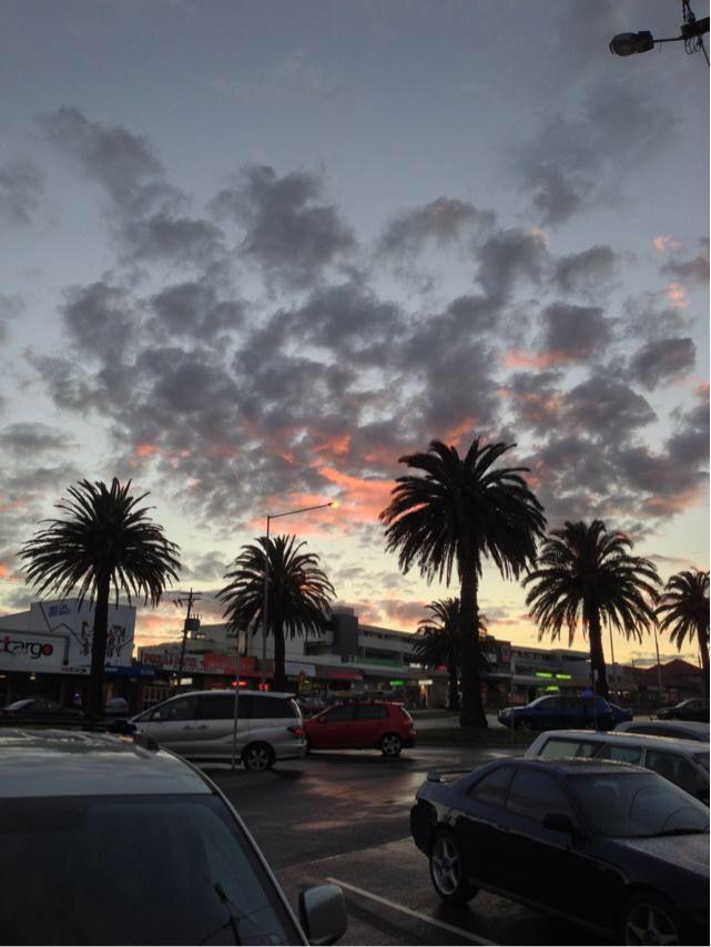 Mordialloc, Australia, Sunset