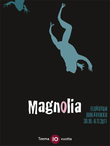 Teema Film Festival 2011 (Magnolia by Paul Thomas Anderson) Poster by Kirsi Kukkurainen / YLE