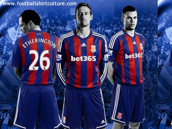 Stoke City 12/13 adidas away football shirt (yep, Stoke, not Crystal Palace)