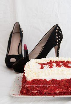 Pane e acqua di rose: Il senza glutine è sexy: torta Red Velvet! (Gluten free is sexy: Red Velvet cake)