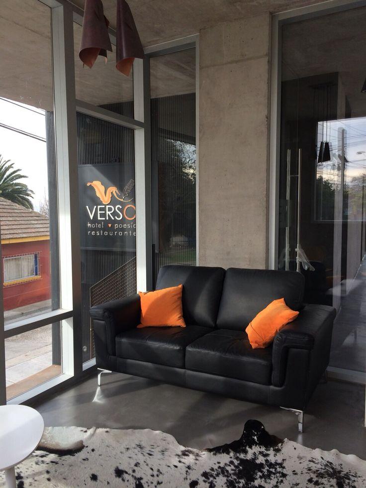 Lobby Hotel Verso Valparaiso