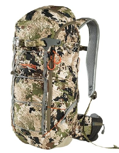 On-sale now! Sitka Ascent 12 Backpack is a great hunting pack. Designed for moving fast! $151.20 that's 20% OFF!  Fishwest Fly Shop  #flyfishing #hunting #daypack #hiking #backpack #camo #sale