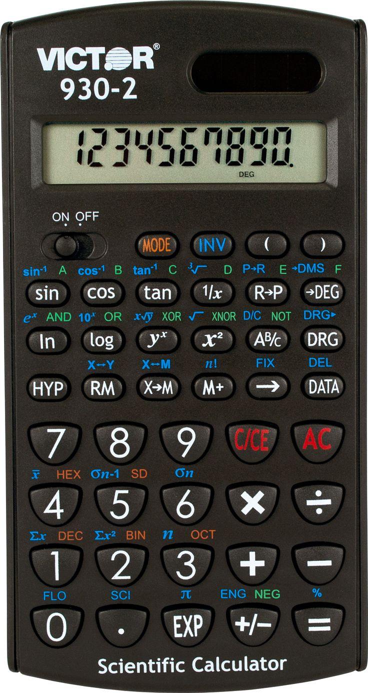9302 Scientific Calculator with Solar Power Scientific