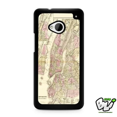New York City Map HTC G21,HTC ONE X,HTC ONE S,HTC ONE M7,HTC M8,HTC M8 Mini,HTC M9,HTC M9 Plus,HTC Desire Case