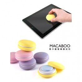 Macaboo Screen Cleaning Kit Model LA-MACA101 - Yellow