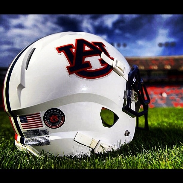 Auburn Military tribute decal Auburn, Football helmets