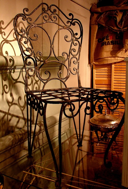 Vintage Wrought Iron Paris Accent Side Chair 40 x 17 x 20 For more  information, call 828-414-9700   For the Home   Pinterest   Wrought iron, Wrought  iron ... - Vintage Wrought Iron Paris Accent Side Chair 40 X 17 X 20 For More