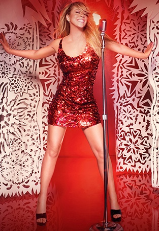 Carla's Boutique: Mariah Carey loves her sparkle, get your sparkle at www.carlasboutique.co.uk #Christmas #dress #stunning