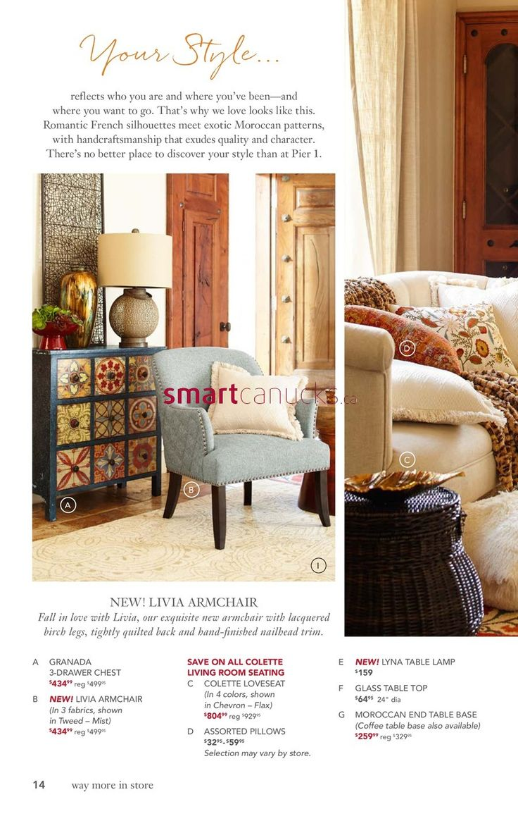 Pier 1 Imports Flyer April 25 To May 30