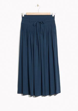 & Other Stories | High Waist Pleated Skirt