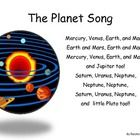 A simple song/poem to teach the planet names and their order from the sun. Can be enlarged for poster size or used in pocket chart.  Small copy can...
