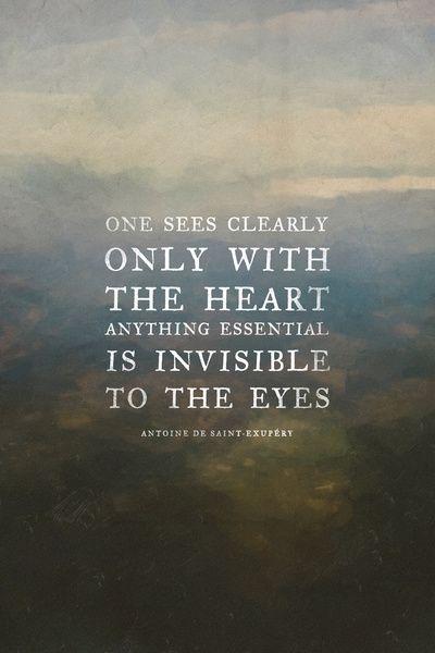 The Little Prince Antoine de Saint Expury   children's books wisdom quote