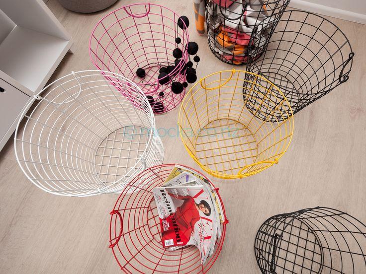 Wire Baskets - Set of 3