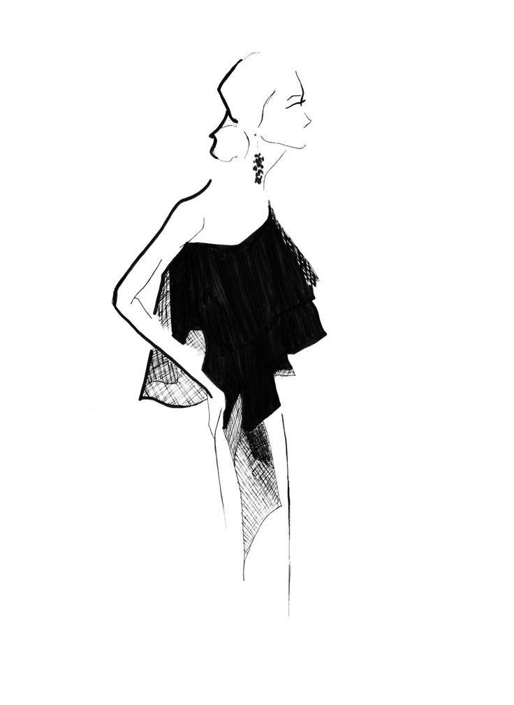 Sachin & Babi Pre-Fall16 03 Fine Art Print by StephanieAnneIllu on Etsy https://www.etsy.com/ca/listing/279578662/sachin-babi-pre-fall16-03-fine-art-print