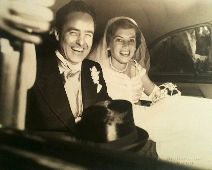 Sargent Shriver and Eunice Kennedy, May 23, 1953